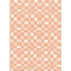 grid - peach