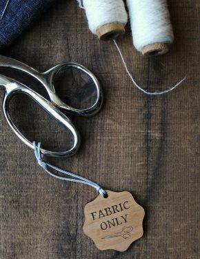 Fabric Only Scissor Fob