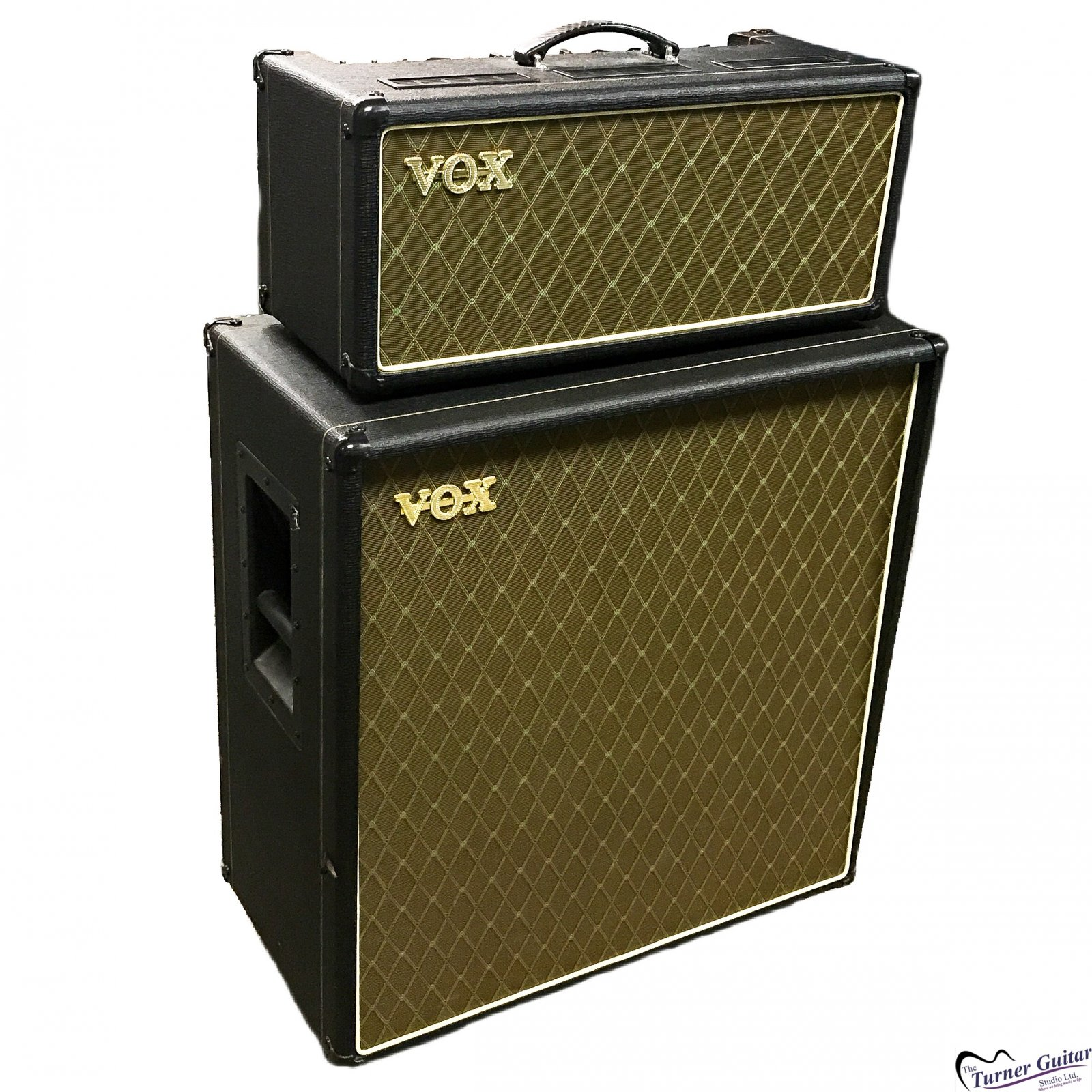 Vox AC30 all Tube Head and 4X12 Cab - Good Condition Used