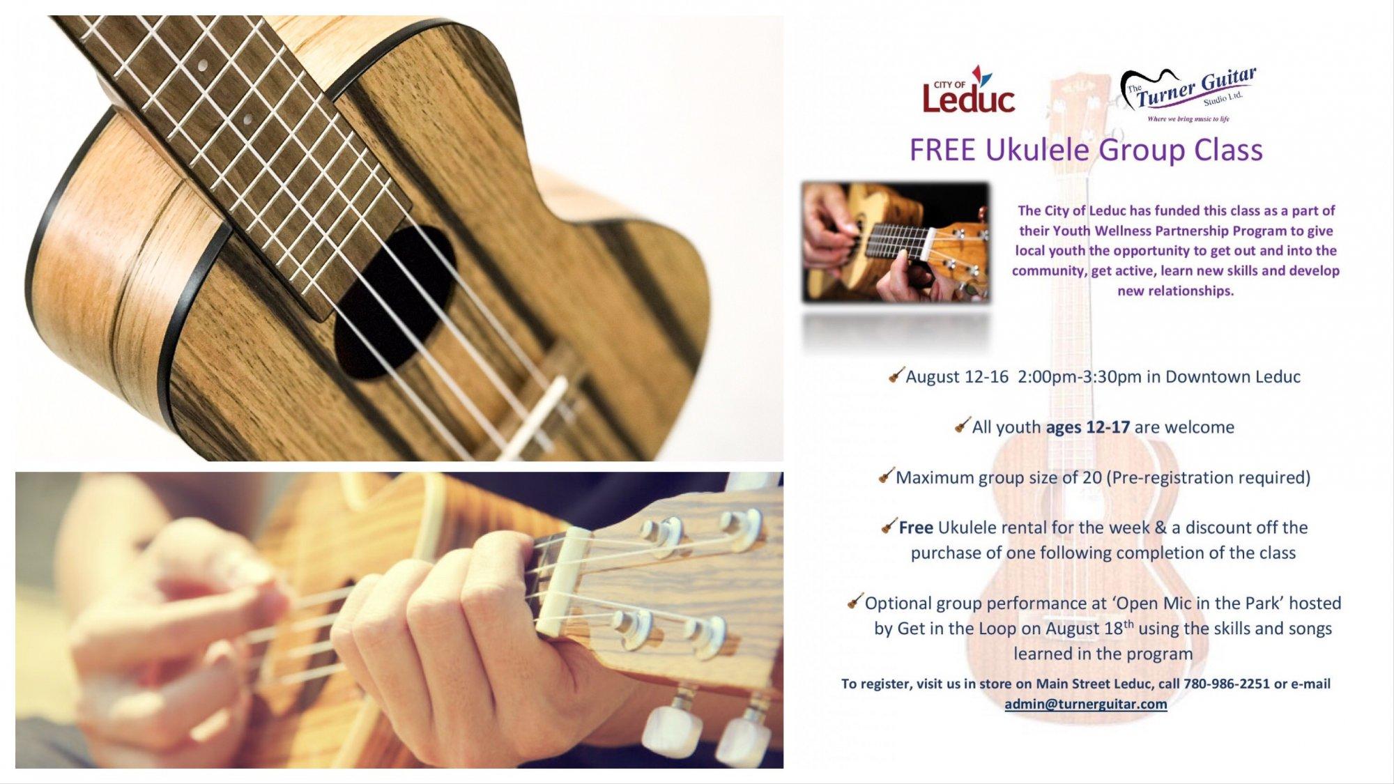 Home | The Turner Guitar Studio LTD | Leduc, Alberta