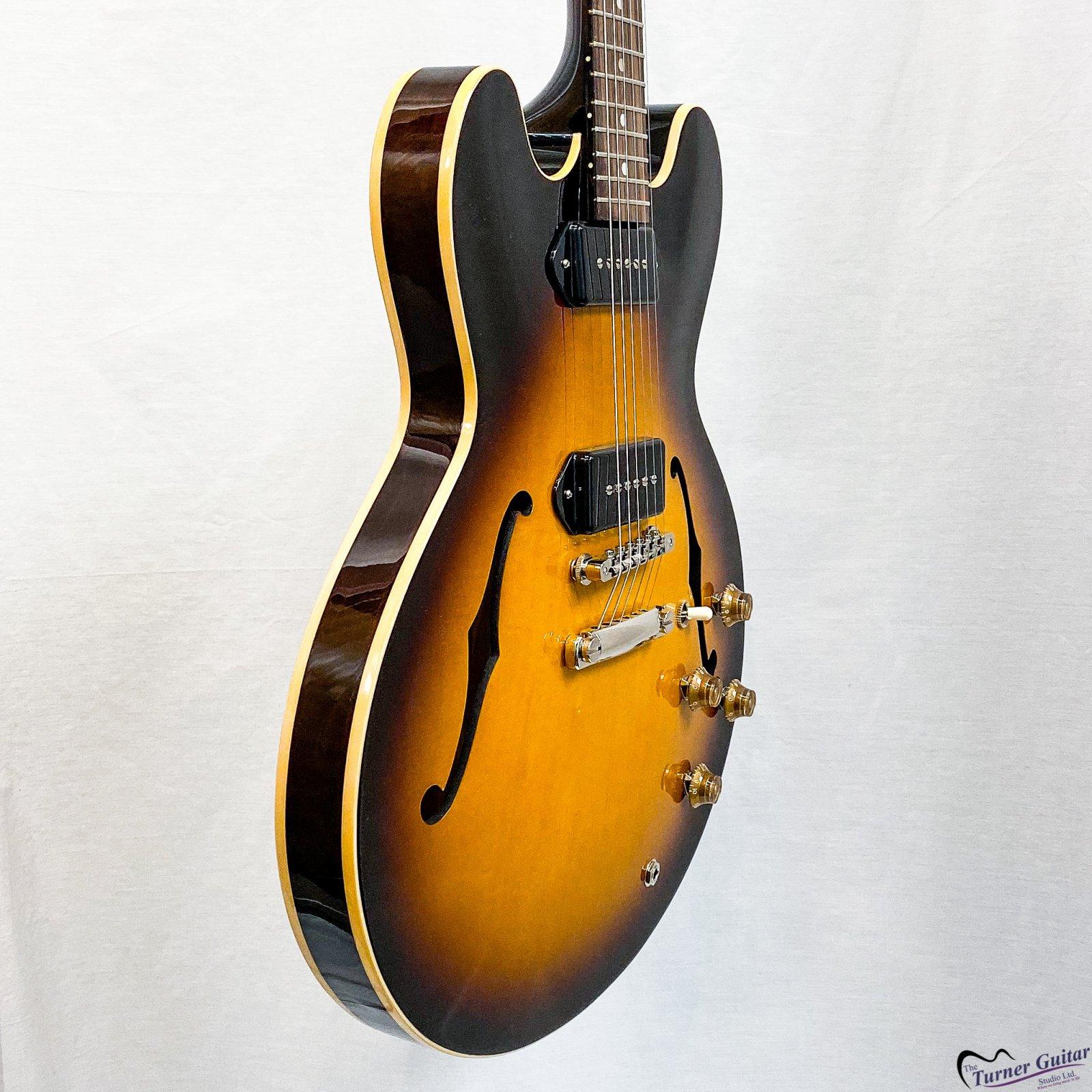Gibson 2019 ES-335 Dot - P-90 - Vintage Burst