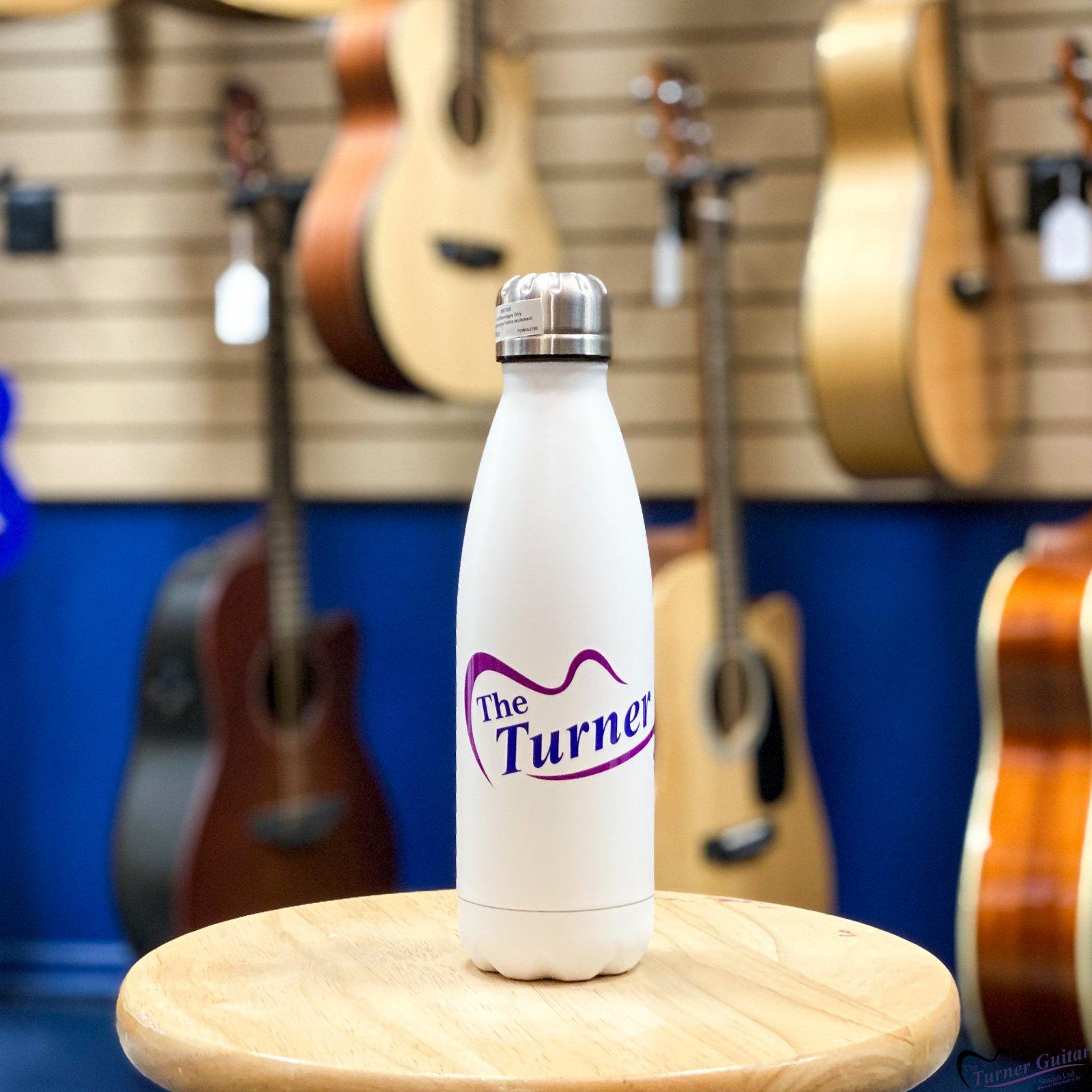 The Turner Guitar Studio Branded Stainless Steel Water Bottles
