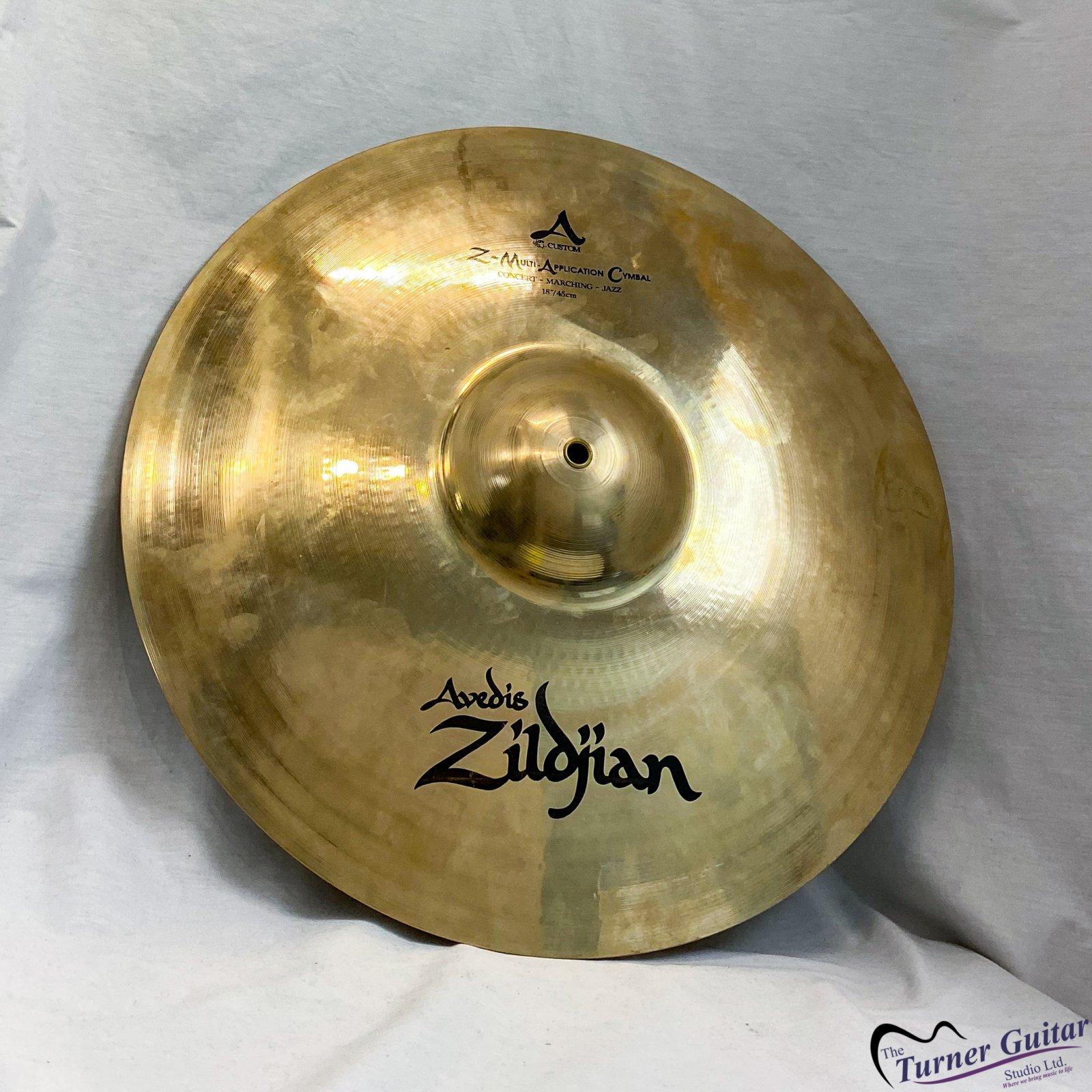 Zildjian 18 Inch Custom Z Mac Cymbals - Single - Floor Model Clearance