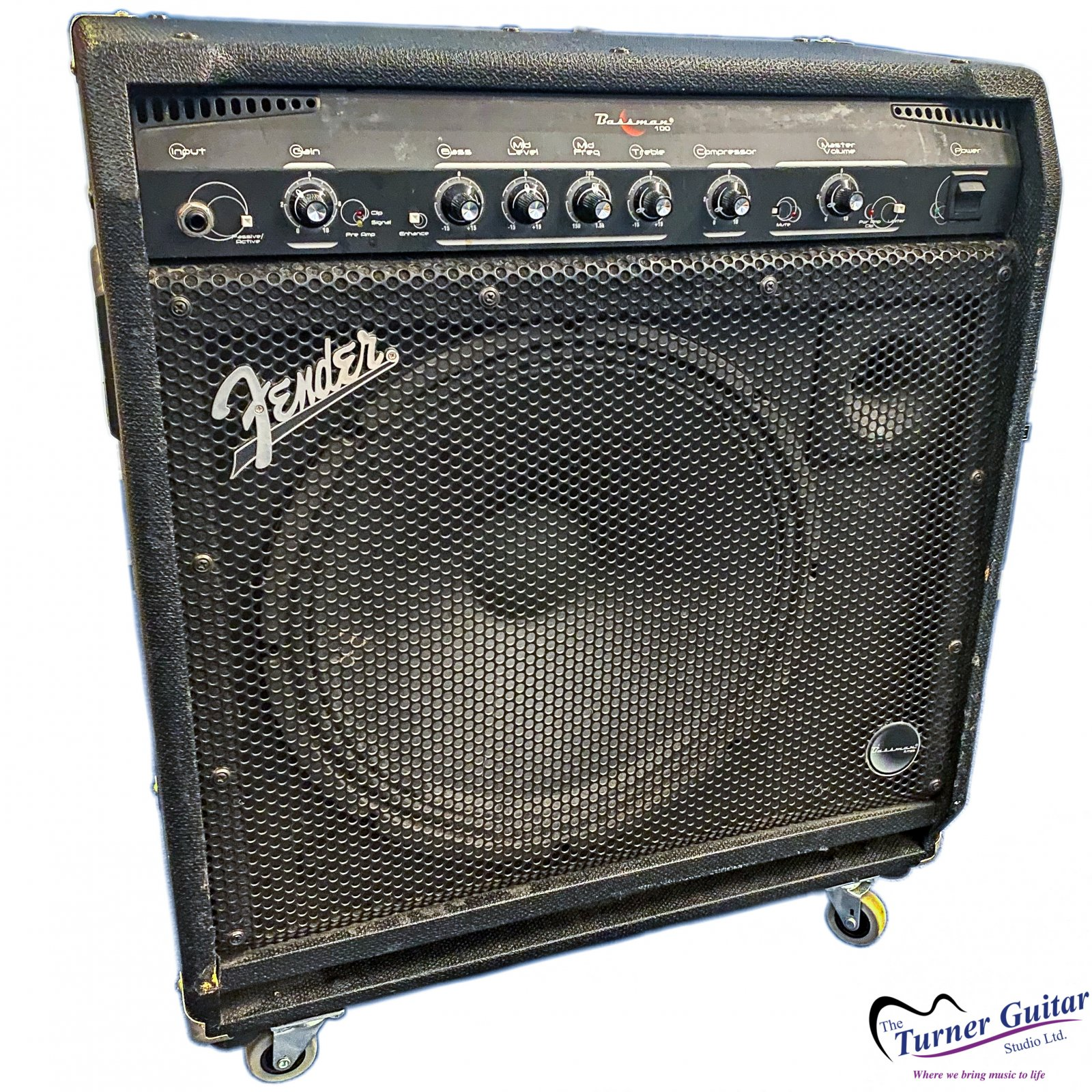 Fender Bassman 100 1x15 Bass Amplifier  - Very Good Condition Used