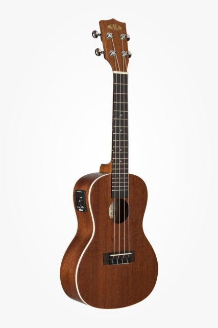 Kala all mahogany concert ukulele nat finish pick-up with tuner - get 25% off any case with purchase.