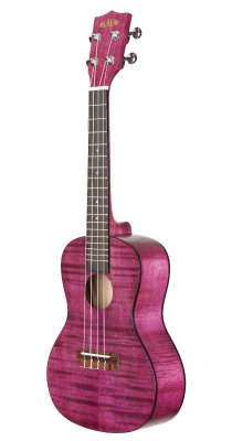 Kala Flamed Mahogany Concert Ukuleles - All Colours