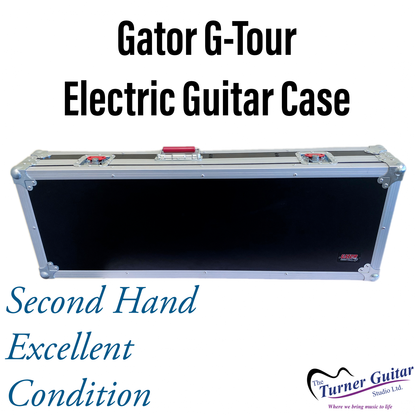Gator G-Tour - Heavy Duty ATA Flight Case for Electric Guitars  - Excellent Condition Used