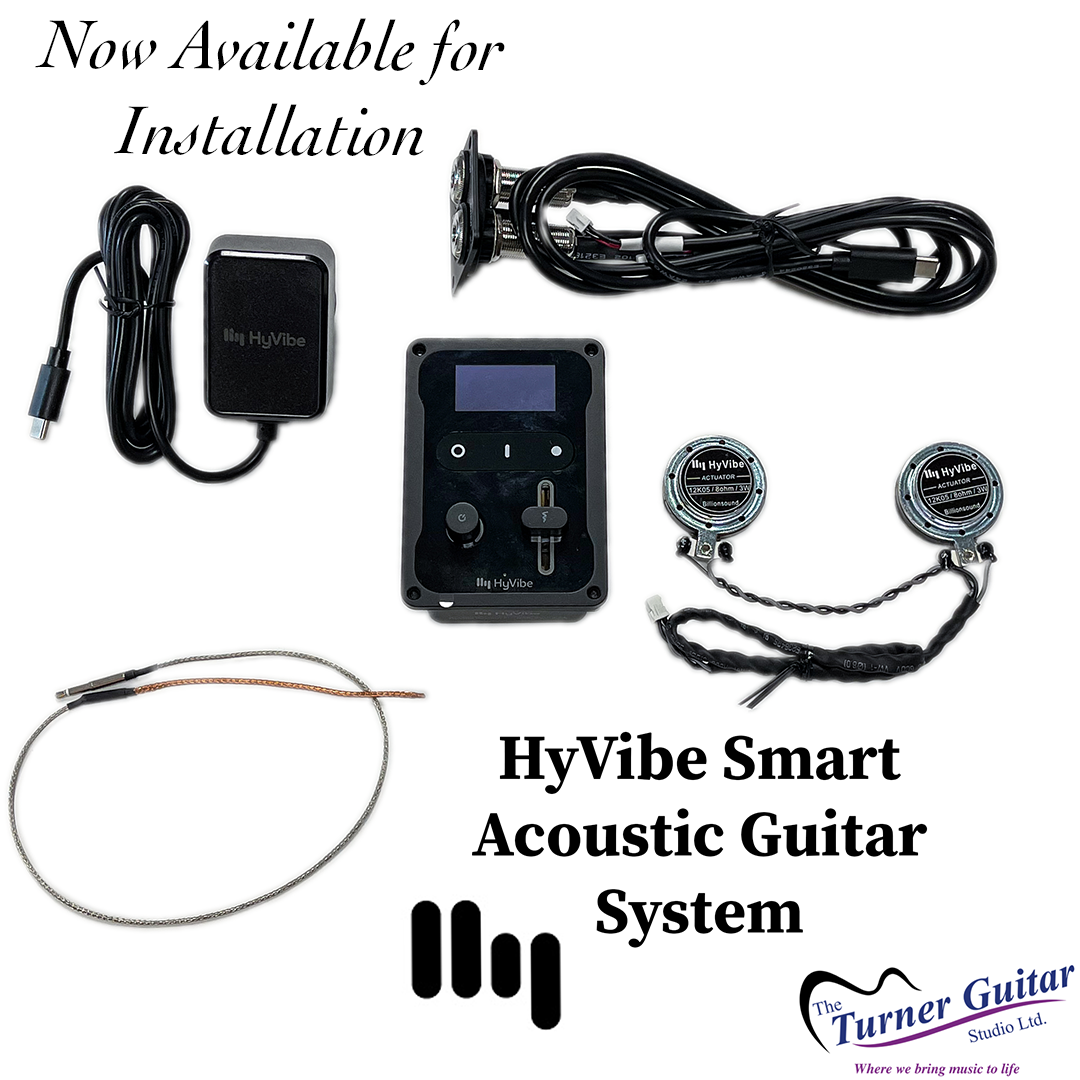 HyVibe Smart Acoustic Guitar System - Installation Kit - Professional Installation Required