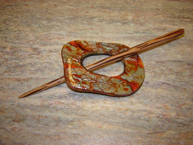 Copper Shell  Pin