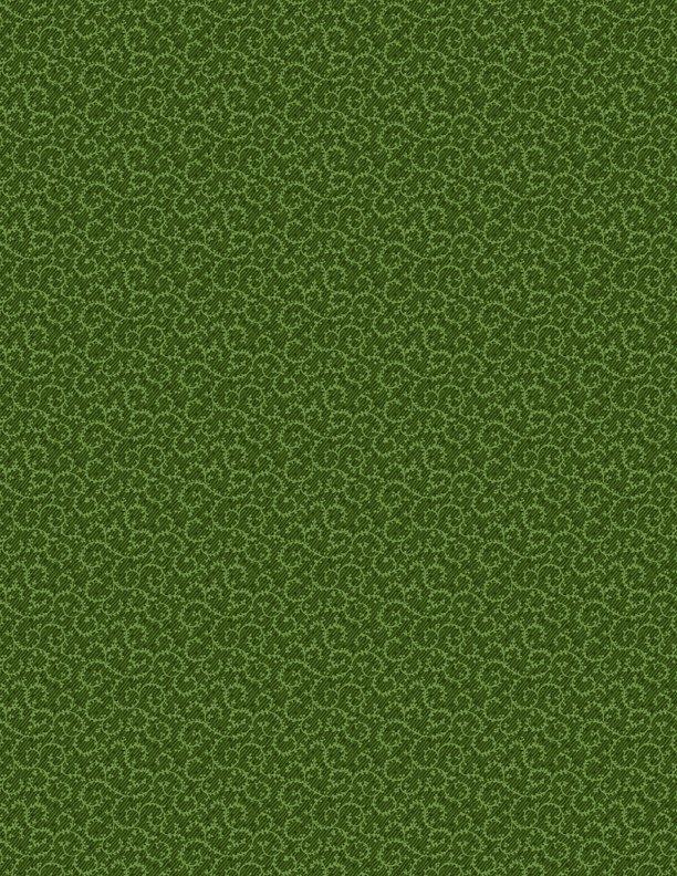 Crescent Swirl - Dk. Green