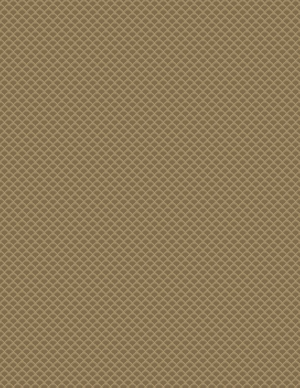 Simple Clamshell - Med. Brown