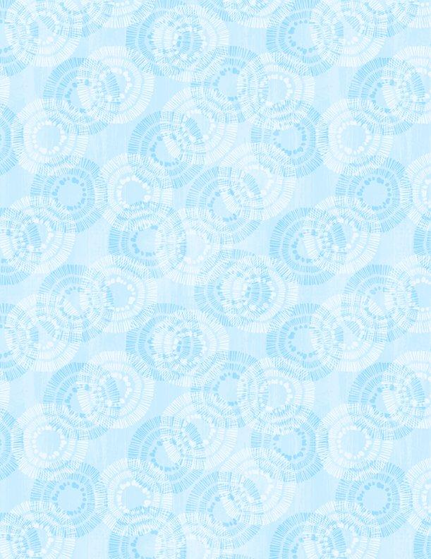 Circle Burst - Sky Blue