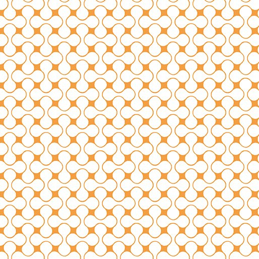 Good Vibes Orange/White