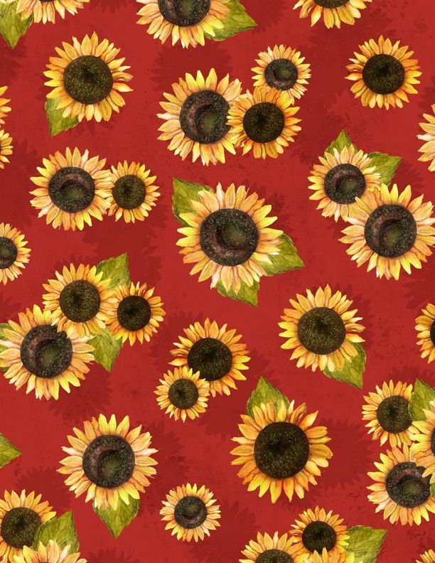 Country Road Market - Sunflower Toss - Red