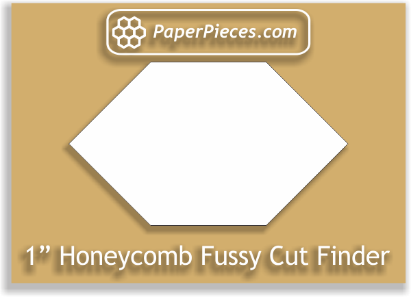 1 Honeycomb Fussy Cut Finder