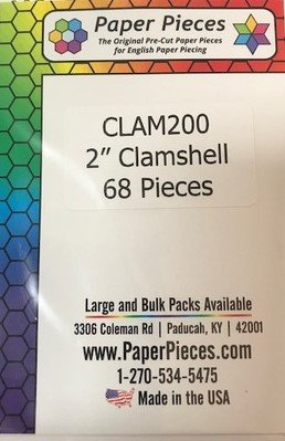 2 Clamshell Paper Pieces