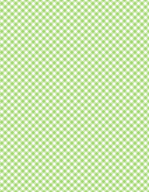 Gingham - Green