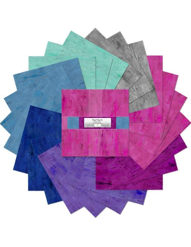 10in Squares Royal Agenda  - 24 pieces