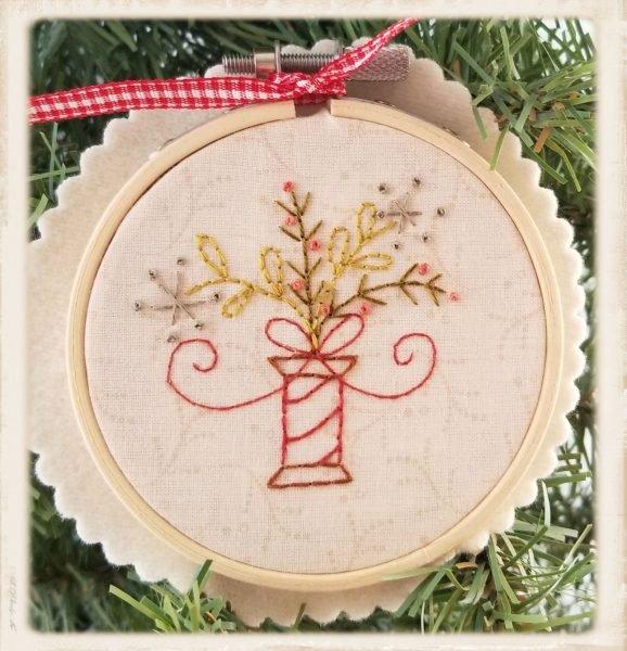 A Stitcher's Ornaments