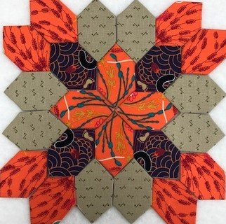 Patchwork of the Crosses - Block #4