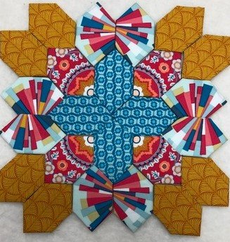 Patchwork of the Crosses - Block #5