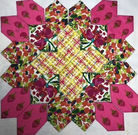 Patchwork of the Crosses - Block #9