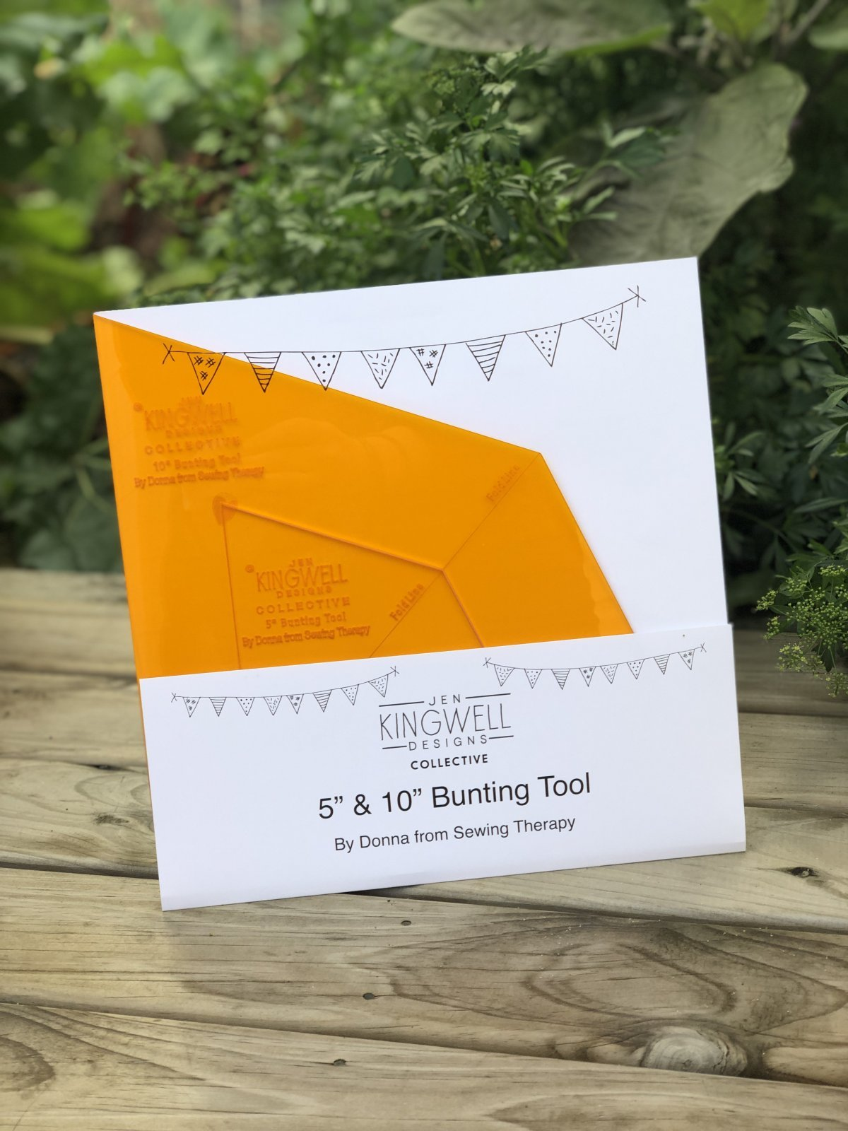 Bunting Tool - Template Only