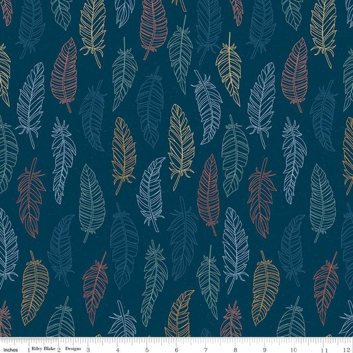 Dream Weaver - Feathers Navy
