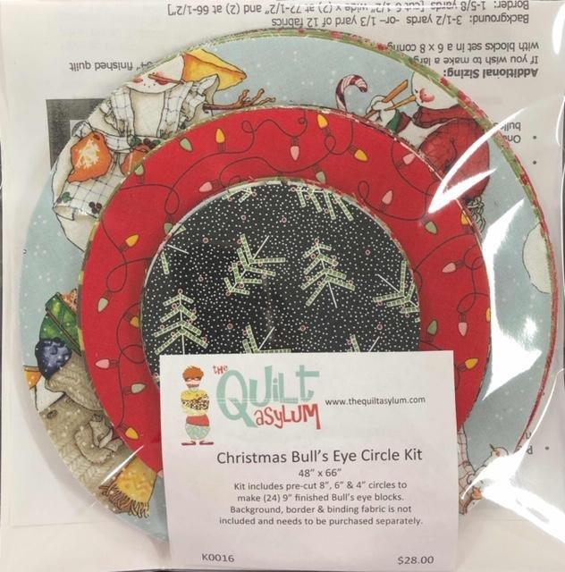 Bullseye Circles - Christmas