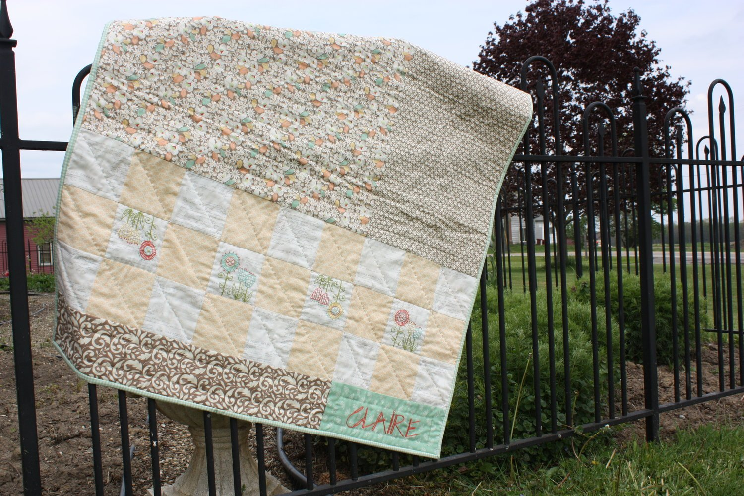Claire Baby Quilt
