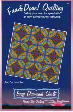 Easy Diamonds Quilt - Fun & Done Quilting