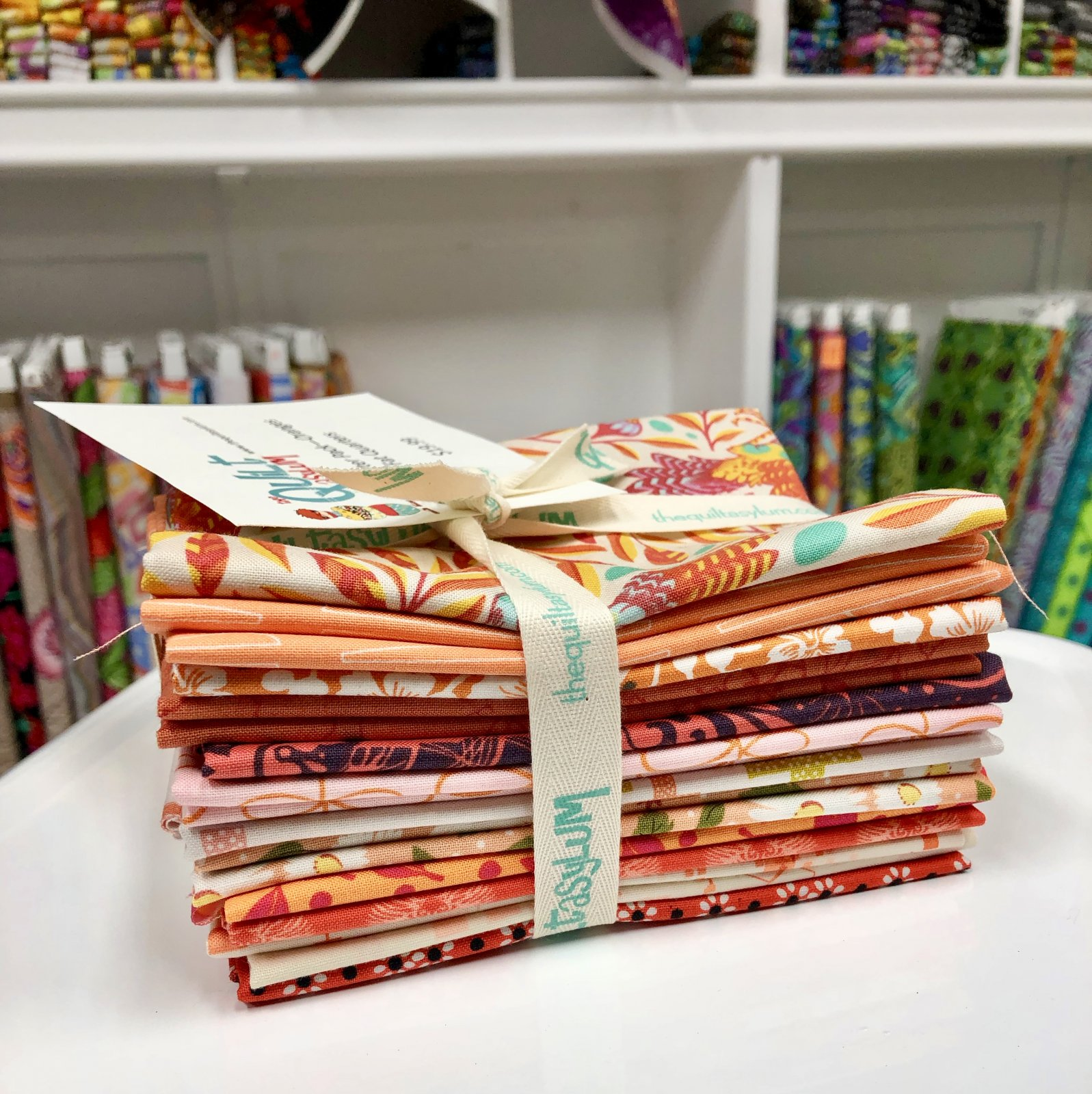 Fat Quarter Pack - Orange