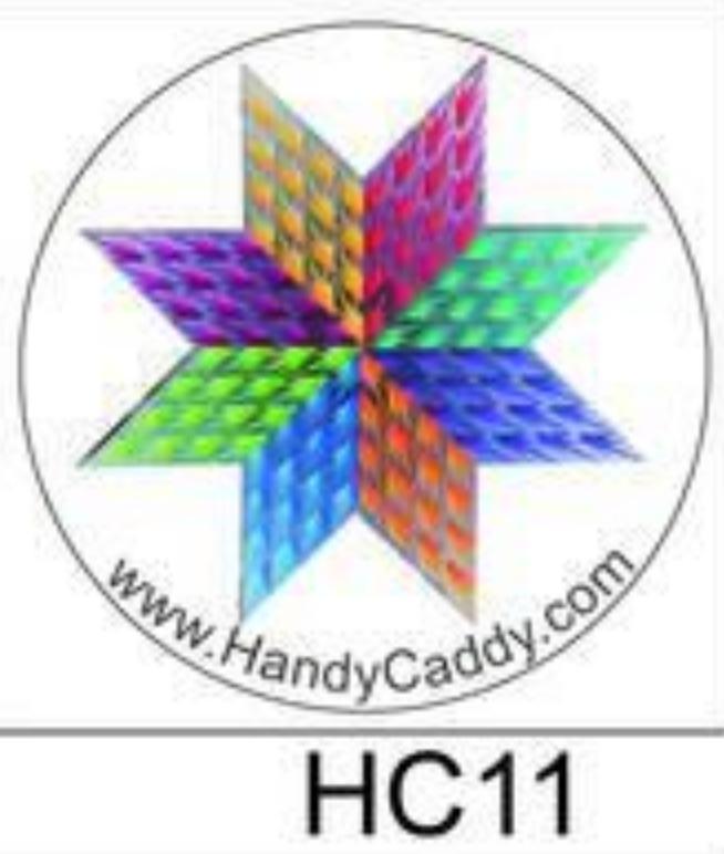 Handy Pop with Car Mount Clip - Multicolor Star