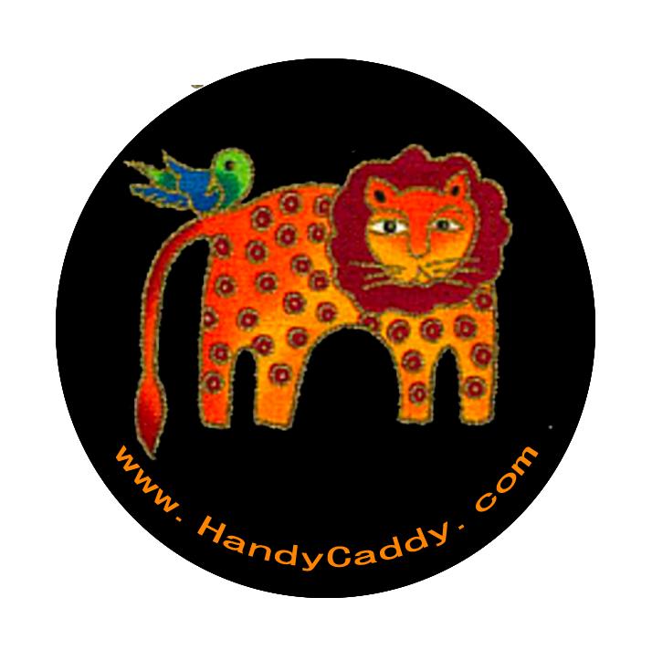 Handy Pop with Car Mount Clip - Lion