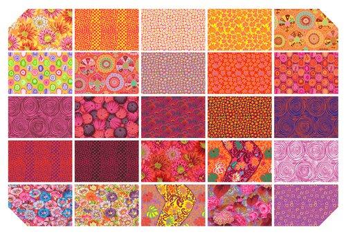 K. Fassett Spring 2019 - 10 Squares - Bright