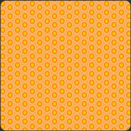 Oval Elements - Papaya Orange