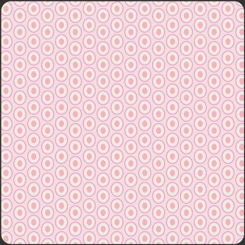 Oval Elements - Petal Pink
