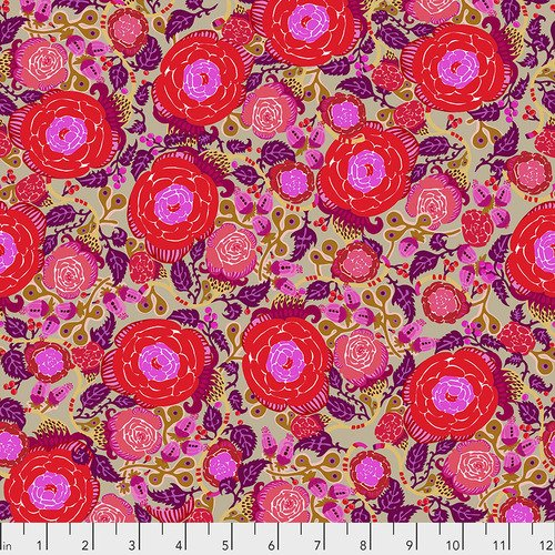 Vibrant Blooms - Rose - Red