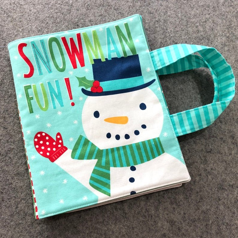 Snow Day Cloth Book Kit