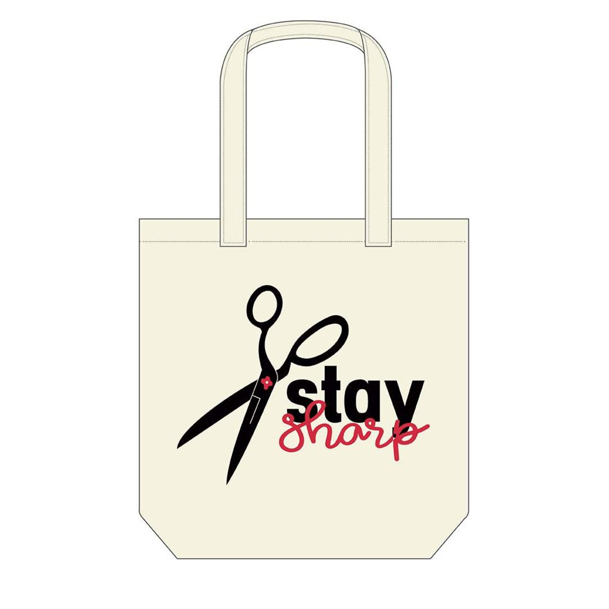 Canvas Tote Bag - Stay Sharp