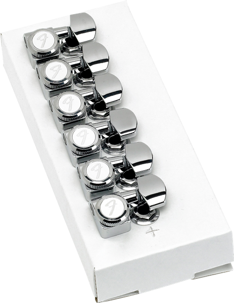 Fender Locking Stratocaster/Telecaster Tuning Machines Set - Chrome