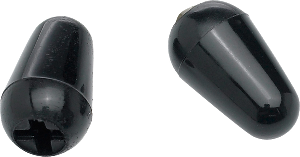 Stratocaster Switch Tips Black (2)