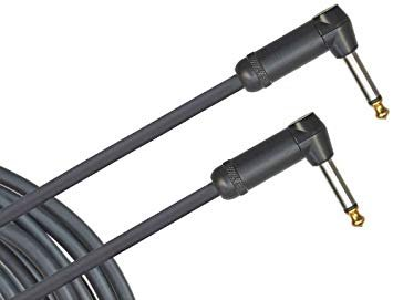 Planet Waves American Stage Instrument Cable Dual Right Angle 20 feet