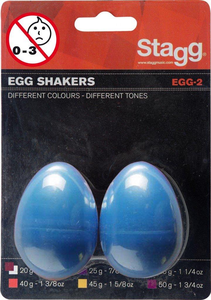 Pair of plastic Egg Shakers