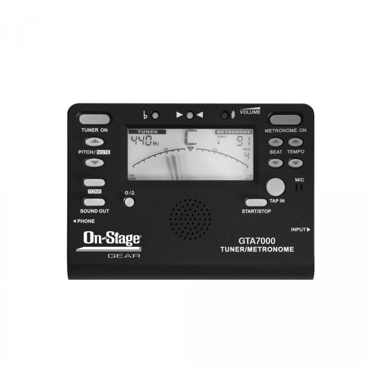 Chromatic Tuner Metronome & Tone Generator