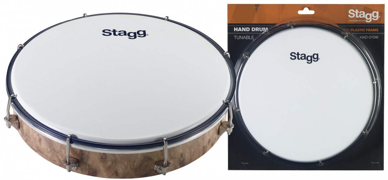 Stagg Tuneable Plastic Hand Drum - 10