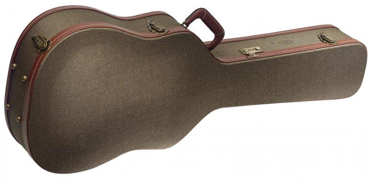 Dreadnought  Guitar Bronze Tweed Deluxe case