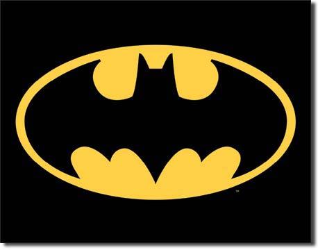 Metal Sign - Batman Logo
