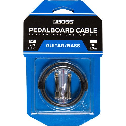 Boss Pedalboard Cable kit - 2 connectors 2 feet