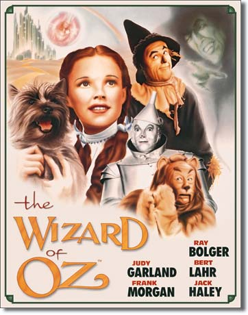 Metal Sign - Wizard of Oz Illusion